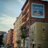 Spring Street and Mercer Street, SoHo, Manhattan
