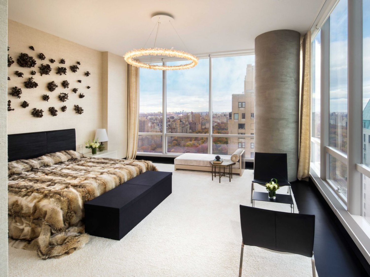 The units range from one bedroom to the six-bedroom penthouses.