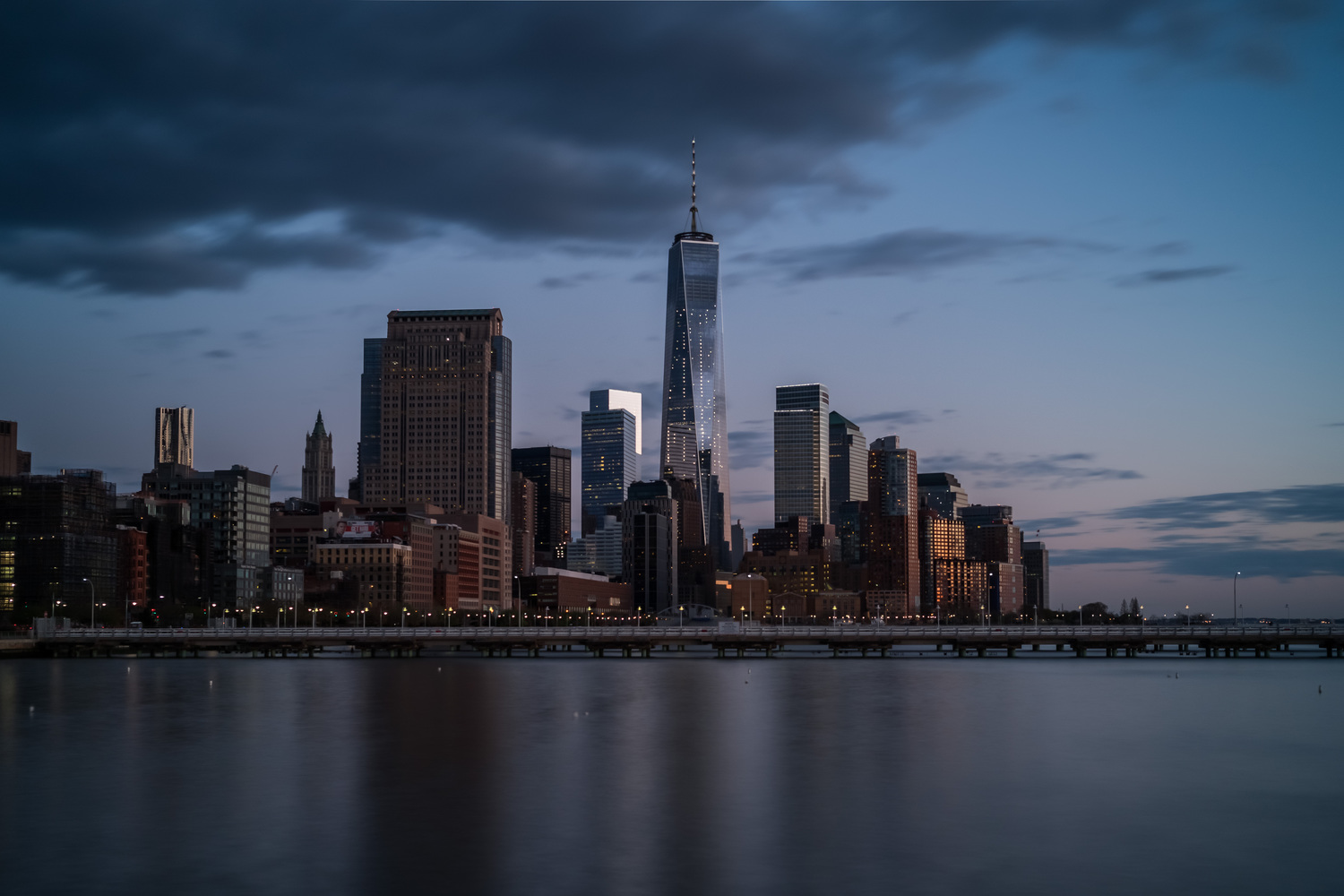 WTC at dusk
