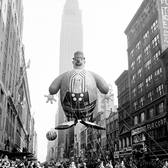 As the @Macys #ThanksgivingDayParade gets underway, here's a throwback to the parade in 1945. #TODAYShow #Thanksgiving #ThrowbackThursday #tbt #MacysParade