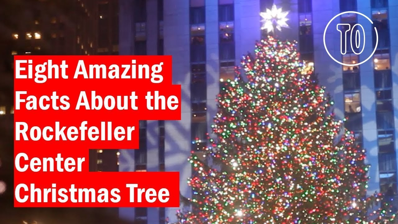 Lighting Christmas Tree Rockefeller Center 2017