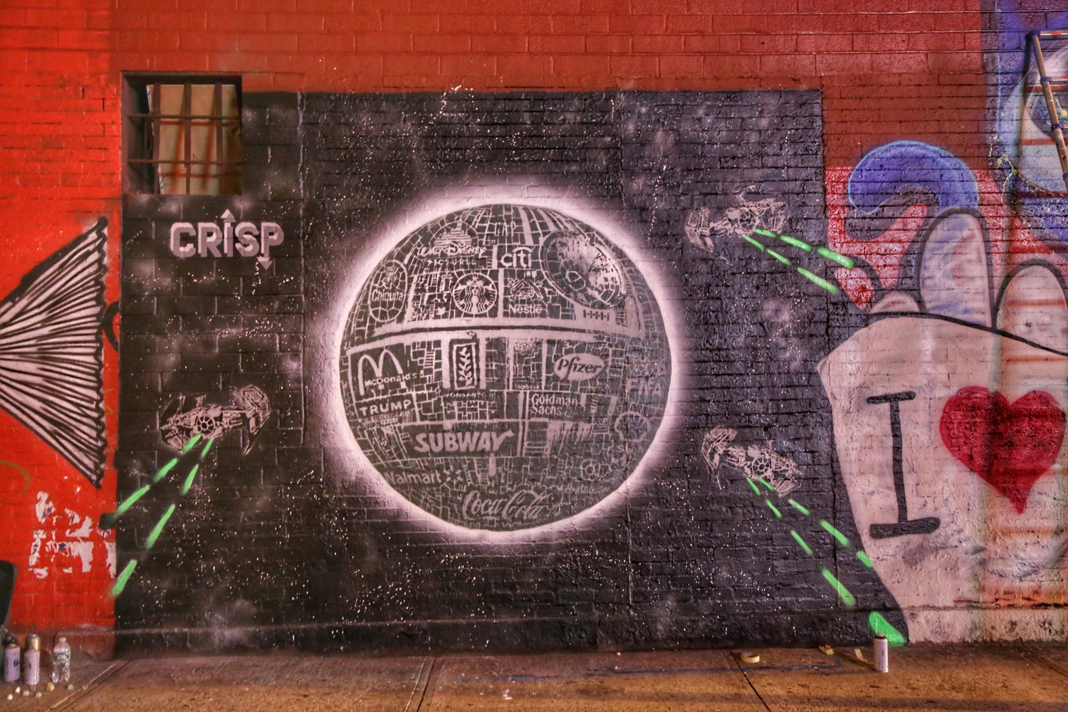 'Corporate Death Star' by Crisp