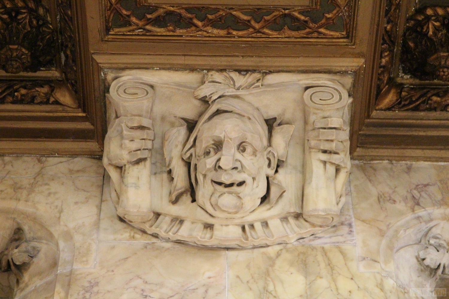 Woolworth Building Lobby and Basement Tour 86