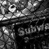 Subway Barricades | MTA barricades stored on the side of a street just outside the Mets-Willets Point Station across from the street from Citi Field after a Mets Yankees Subway Series game.  © 2010 Ashley D. Cristal, All Rights Reserved. Use of this photograph in ANY form is NOT permitted without permission from the author.