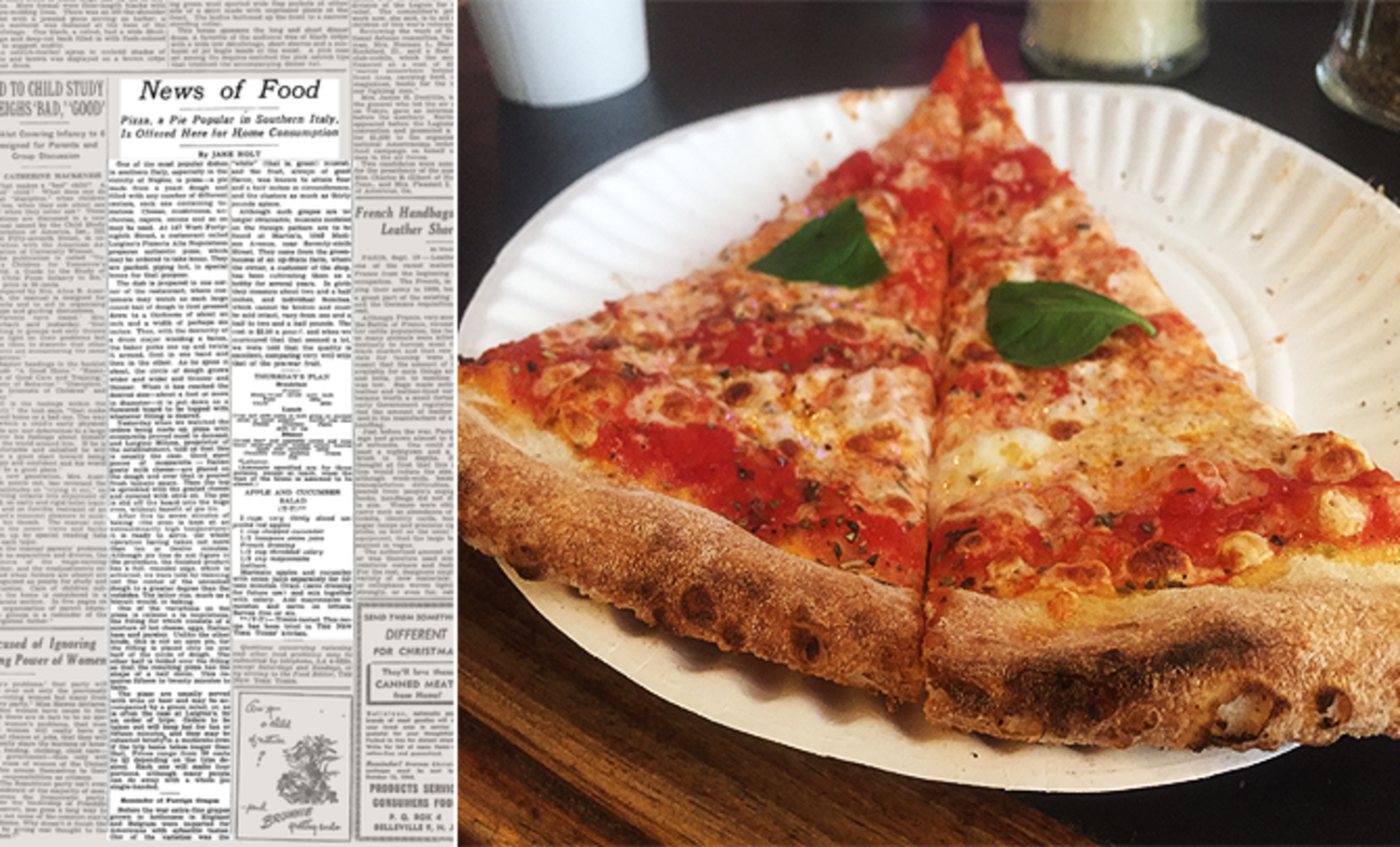 71 Years Ago, the New York Times Introduced Pizza to the City