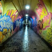 ⁴ᴷ⁶⁰ Creepy NYC Subway Passageway and Deepest Subway Station : 191st Street (1)