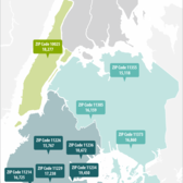 NYC Zip Codes with the Largest Baby Boomer Populations