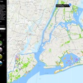 Natural Areas NYC (screenshot)