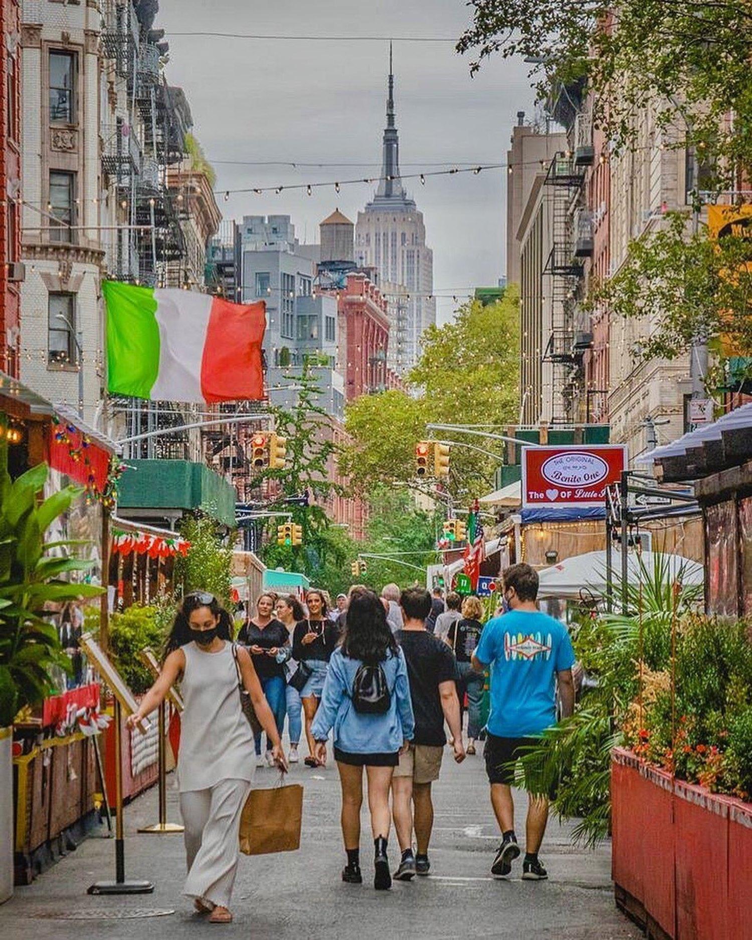 Mulberry Street, Little Italy, Manhattan