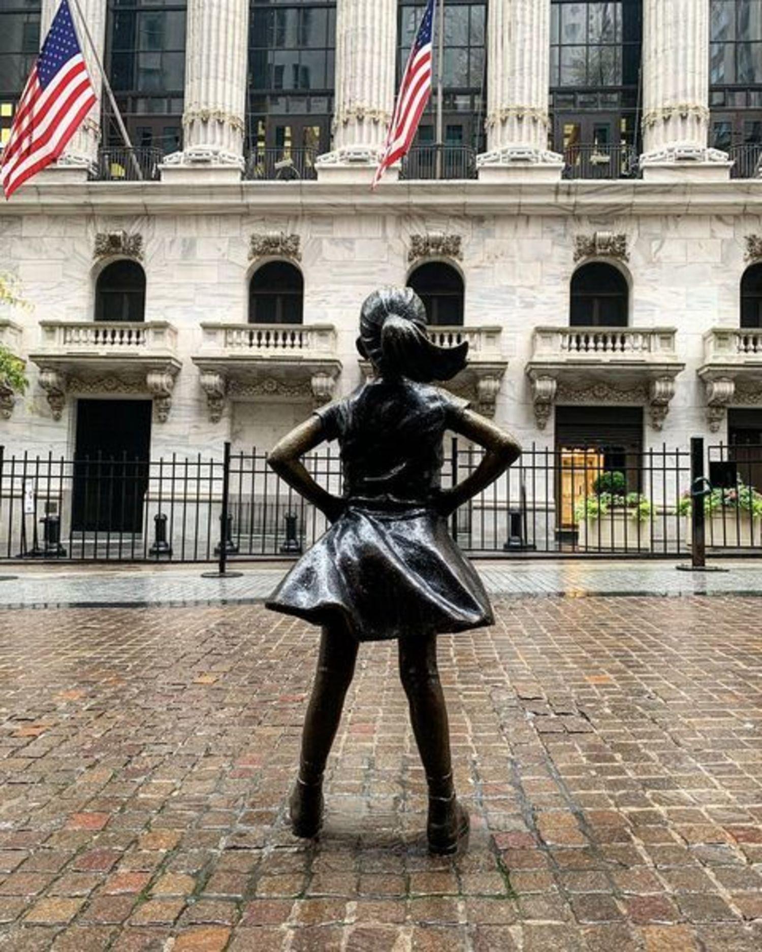 Fearless Girl, Wall Street, Manhattan
