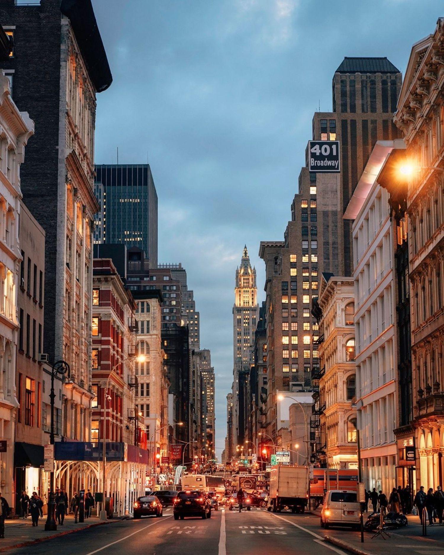 Broadway, Lower Manhattan