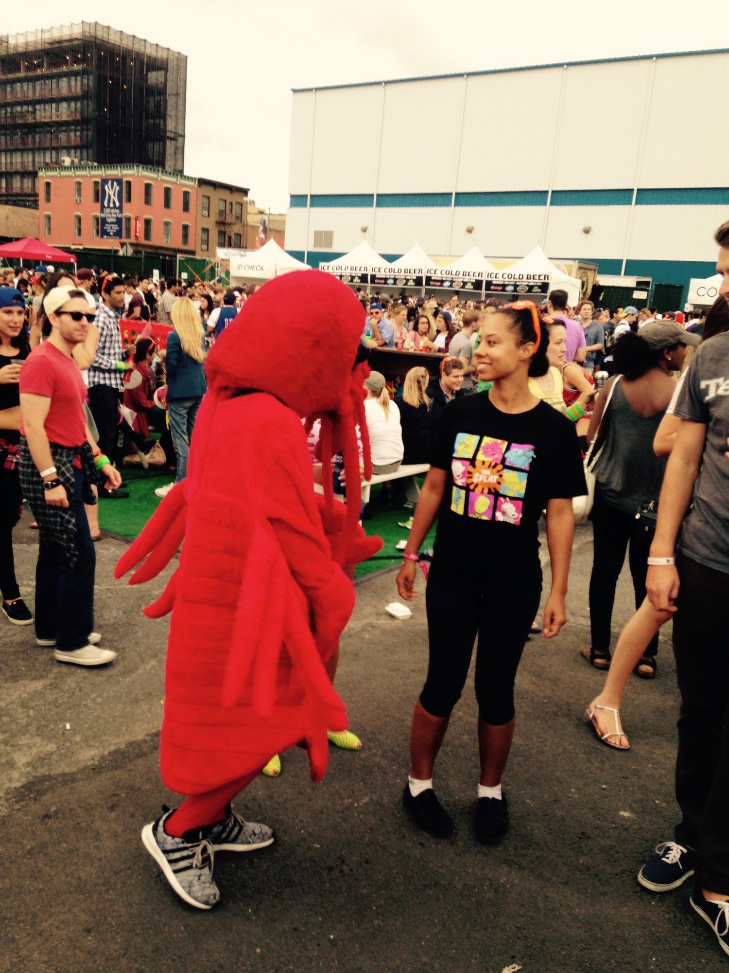 Bring out the dancin' lobstahs!