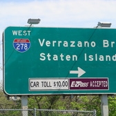 Verrazano Bridge Sign