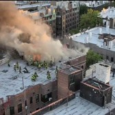 FDNY Drone Deployed at Brooklyn 3-alarm fire 6-2-17
