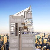 Rendering of the Hudson Yard's All-Glass Observation Deck
