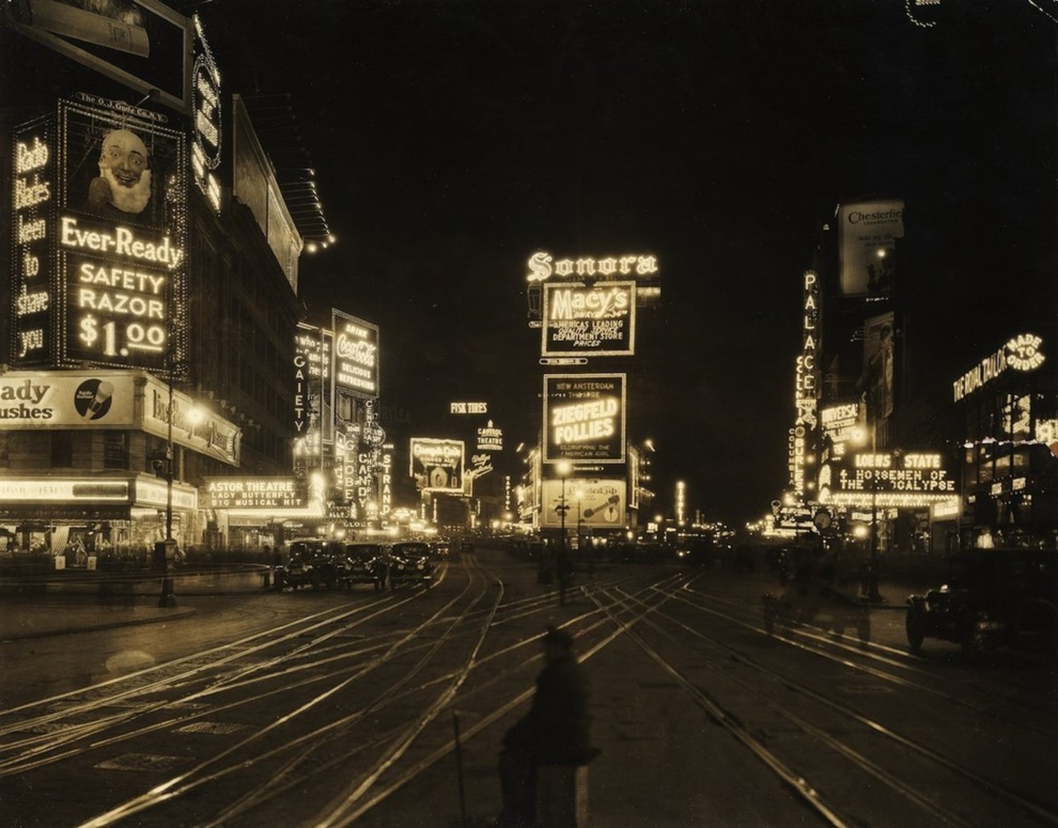 Times Square, 1923.
