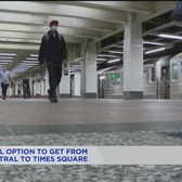 Times Square shuttle project includes new free transfer