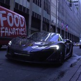 Hypercar vs Pedestrian in NYC