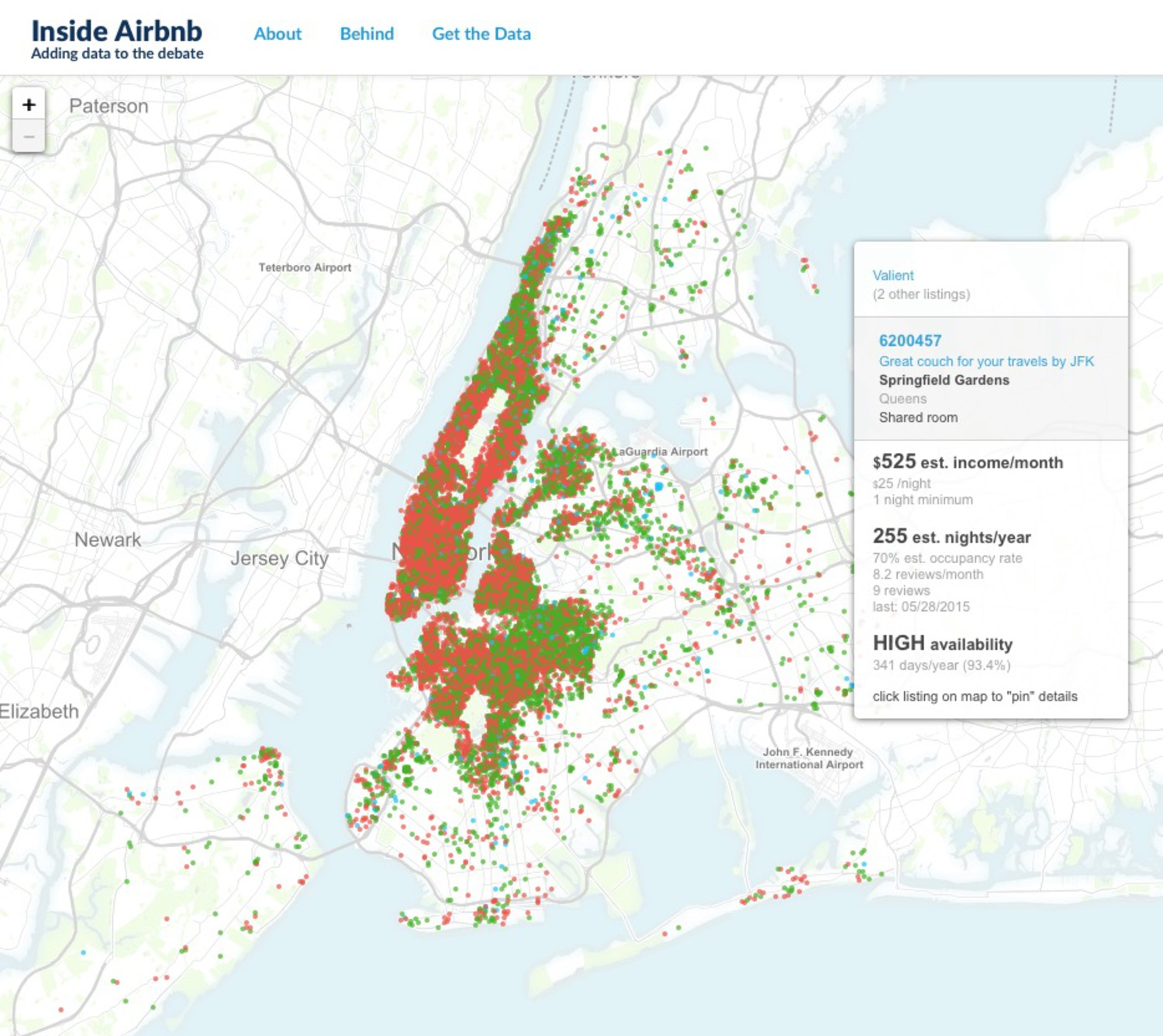 Airbnb affects the city's housing supply and affordability. Explore the key variables of Airbnb use and how it impacts your neighborhood.