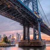 Manhattan Bridge, New York. Photo via @matthewchimeraphotography #viewingnyc #newyorkcity #newyork