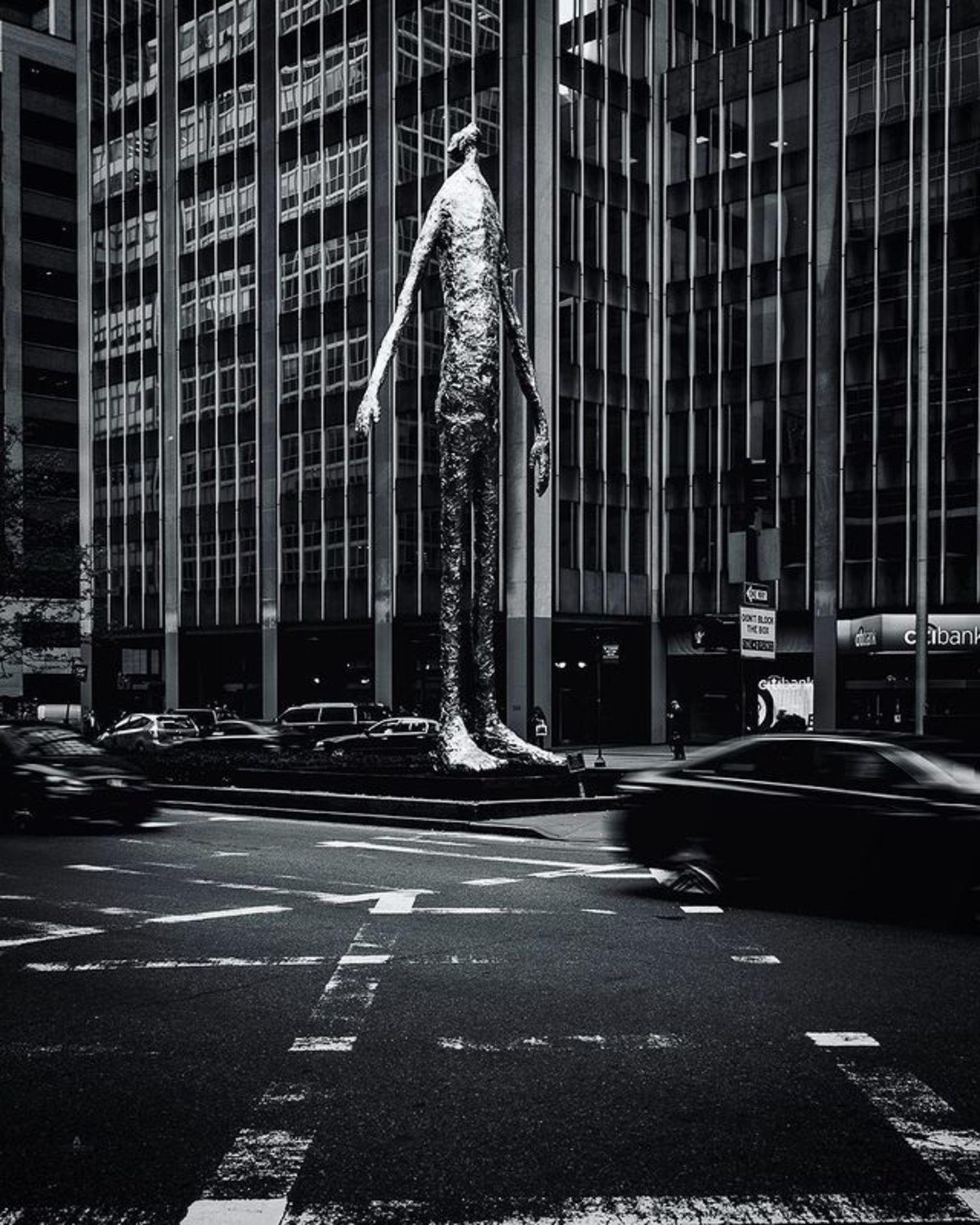 """Looking Up"", Tom Friedman, Park Avenue & 53rd Street, Midtown, Manhattan"