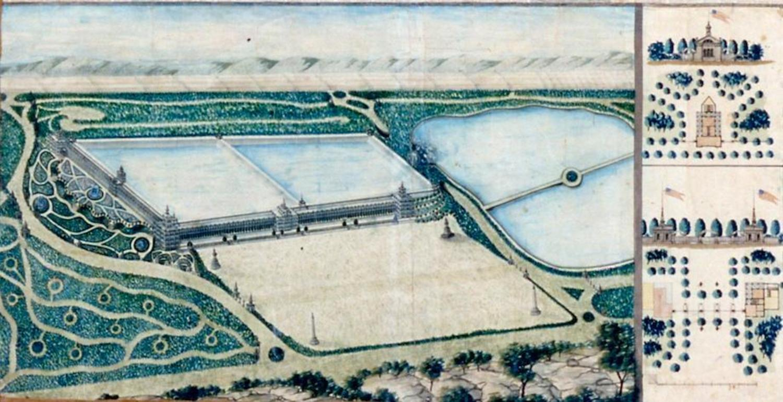 "John Rink's ""Plan of the Central Park: New York"""