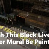 Time-Lapse of Black Lives Matter Mural Outside Trump Tower | NowThis