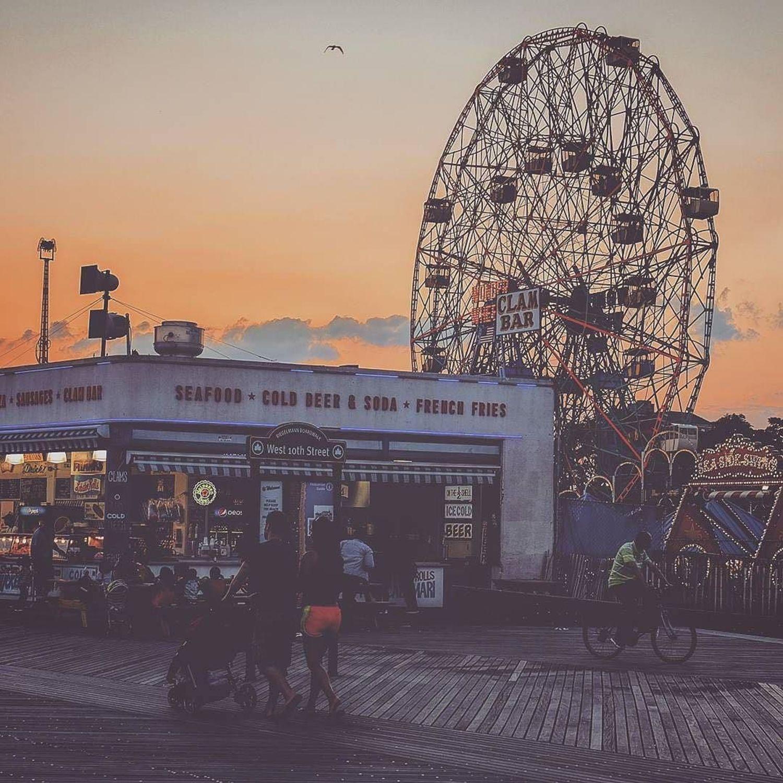 Coney Island, New York City. Photo via @nyc_russ #viewingnyc