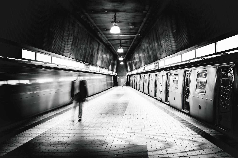 NYC Subway | NYC Subway near JFK airport. Static vs kinetic