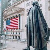 Federal Hall, New York Stock Exchange, and Wall Street, Financial District, Manhattan