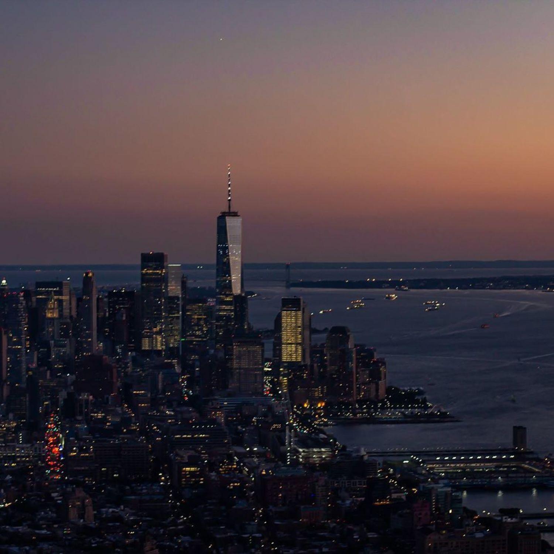 Lower Manhattan from The Edge, Hudson Yards