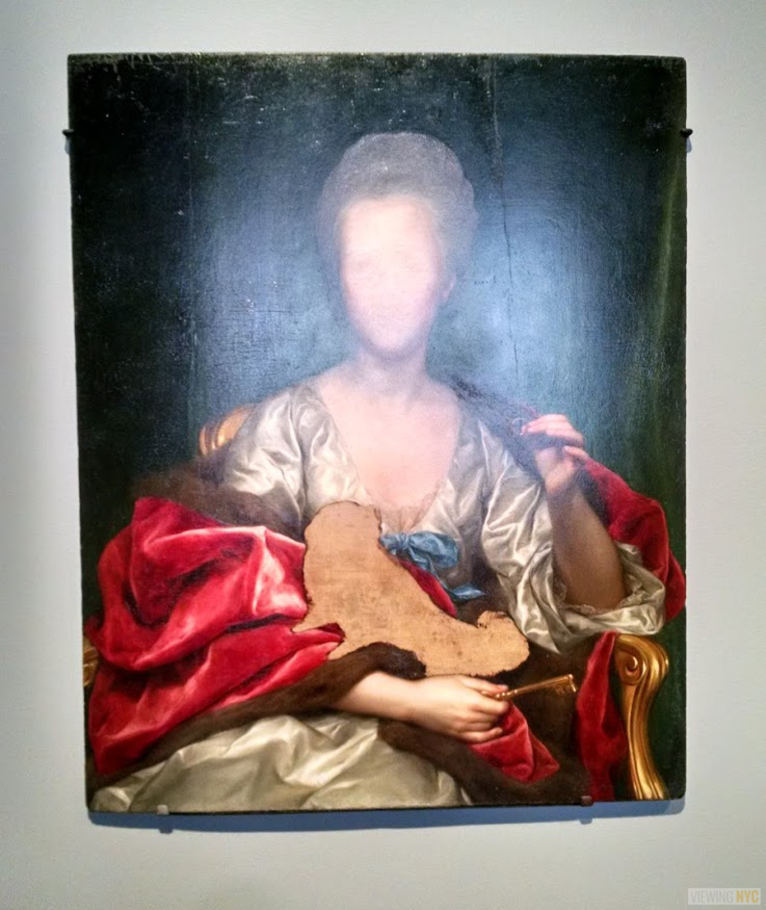 Unfinished Portrait | Unfinished: Thoughts LeftVisible, at the Met Brueur