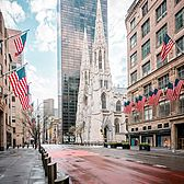 5th Avenue and St. Patrick's Cathedral, Midtown, Manhattan