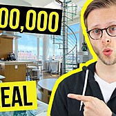 THIS $3,500,000 Sky-Castle has INSANE Views | NYC Apartment Tour