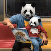 Happy Father's Day to my amazing father and to all the fathers out there!  #fathersday #painting #panda