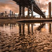 Manhattan Bridge, New York, New York. Photo via @eyecatchingphoto #viewingnyc #newyorkcity #newyork #nyc #manhattanbridge