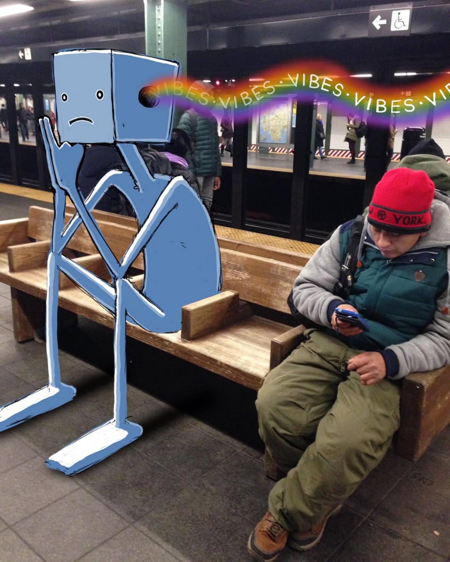 #subwaydoodle #subway #doodle #swd #nyc #vibes