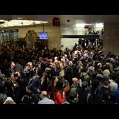 Inside Penn Station During Thanksgiving Week 2016
