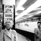 Marilyn Monroe in Grand Central Subway Station
