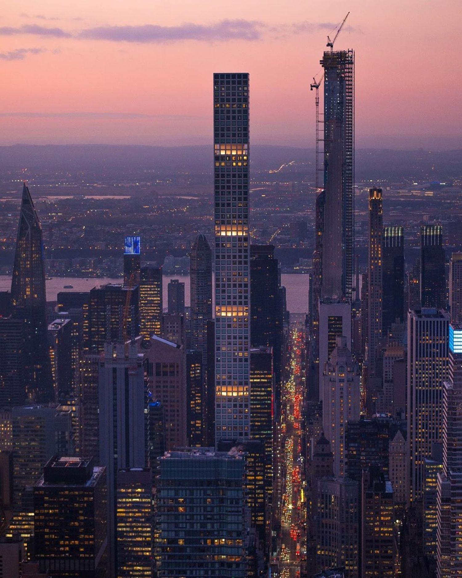 Billionaire's Row, 57th Street, Midtown, Manhattan