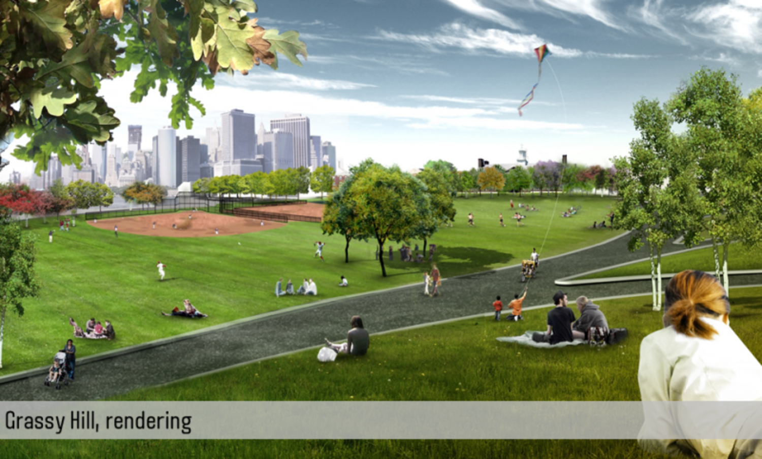 Rendering of Grassy Hill