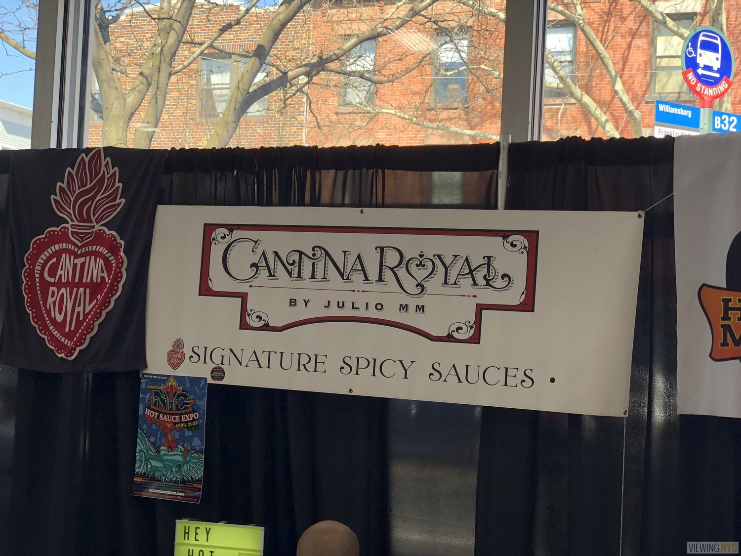 Cantina Royale Booth | 2018 New York City Hot Sauce Expo