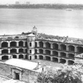 Vintage Postcard of Fort Wadsworth.