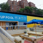 Pop-up Pool | Pop-up Pool at Pier 2 / Brooklyn Bridge Park