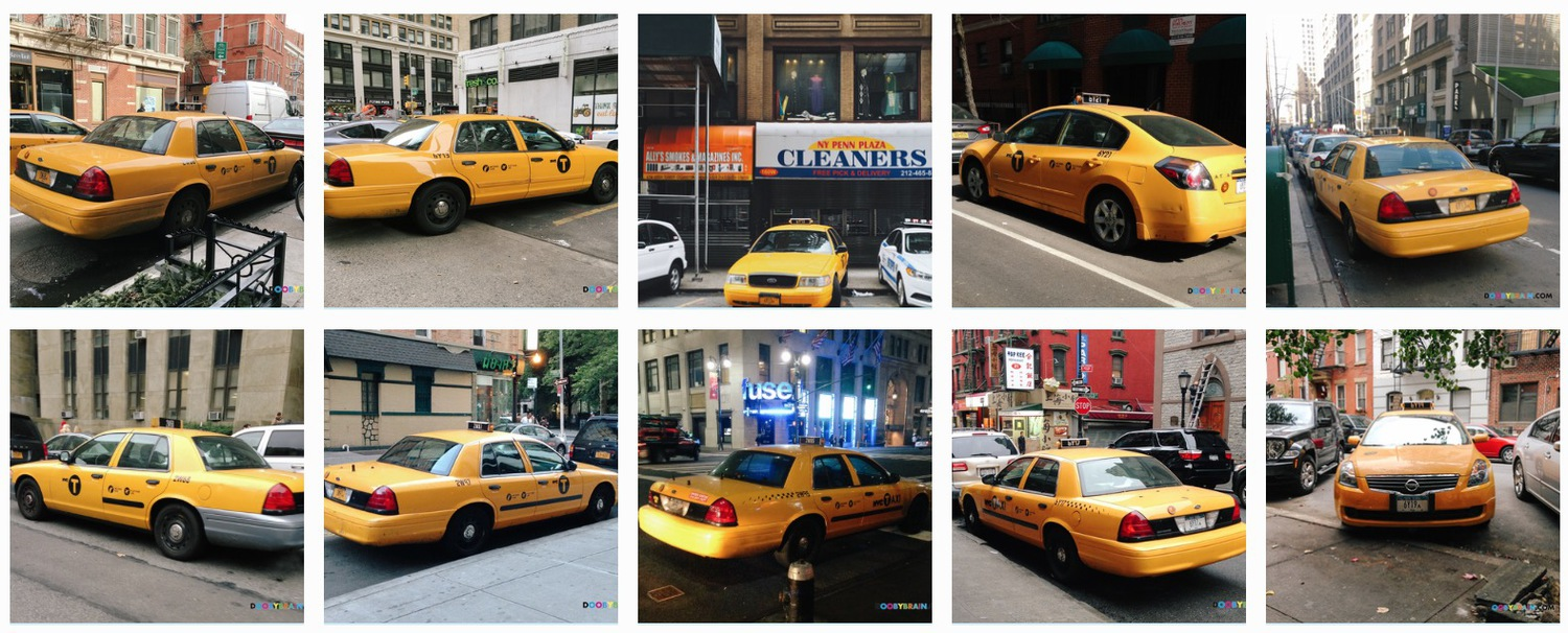 NYPD's Fleet of Undercover Taxi Cabs