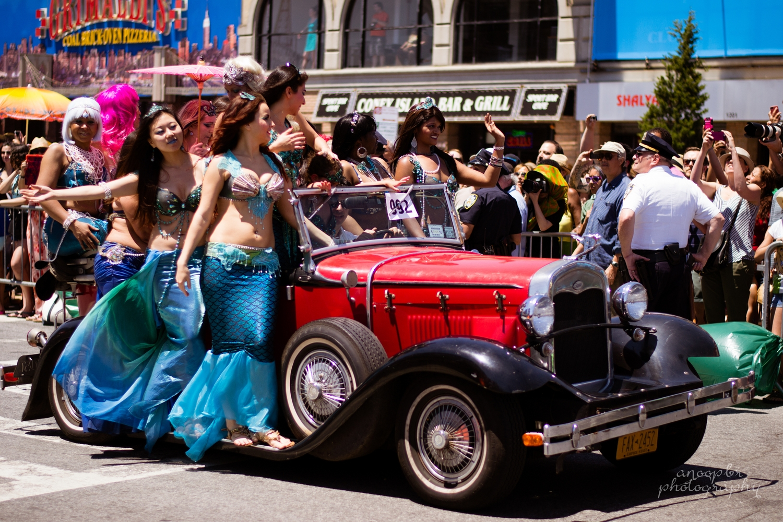 2014 Mermaid Parade, Coney Island, NY
