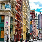 Broome Street and Mercer Street, SoHo, Manhattan