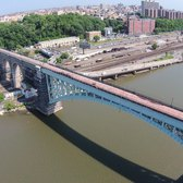 Drone Footage of High Bridge, NYC's Longest Standing Span