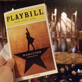 "Hamilton | Ready to see ""Hamilton"" on Broadway! We got the tickets like six or seven months ago!"