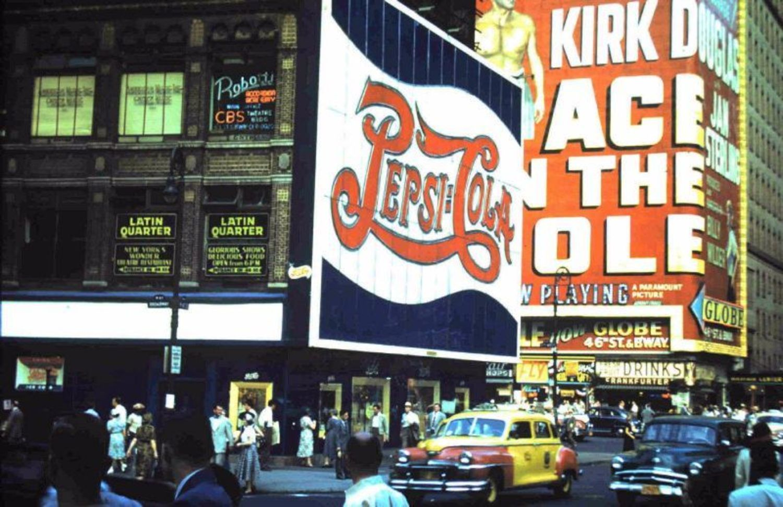 Broadway & 47th Street, 1951